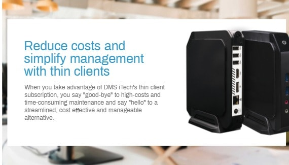 Thin Client Subscriptions Service Providers in Canada   DMS