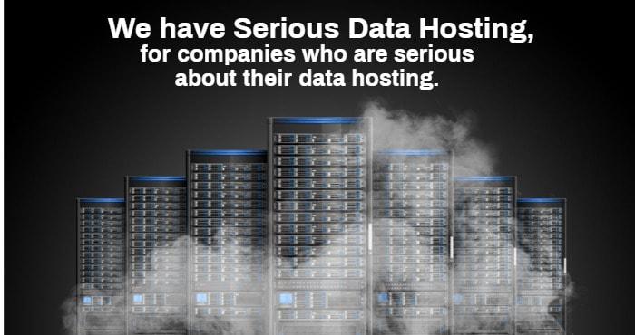 serious data hosting