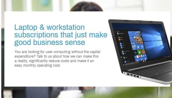 Laptop & Workstation Subscription Services